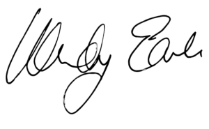 Wendy Earle signature
