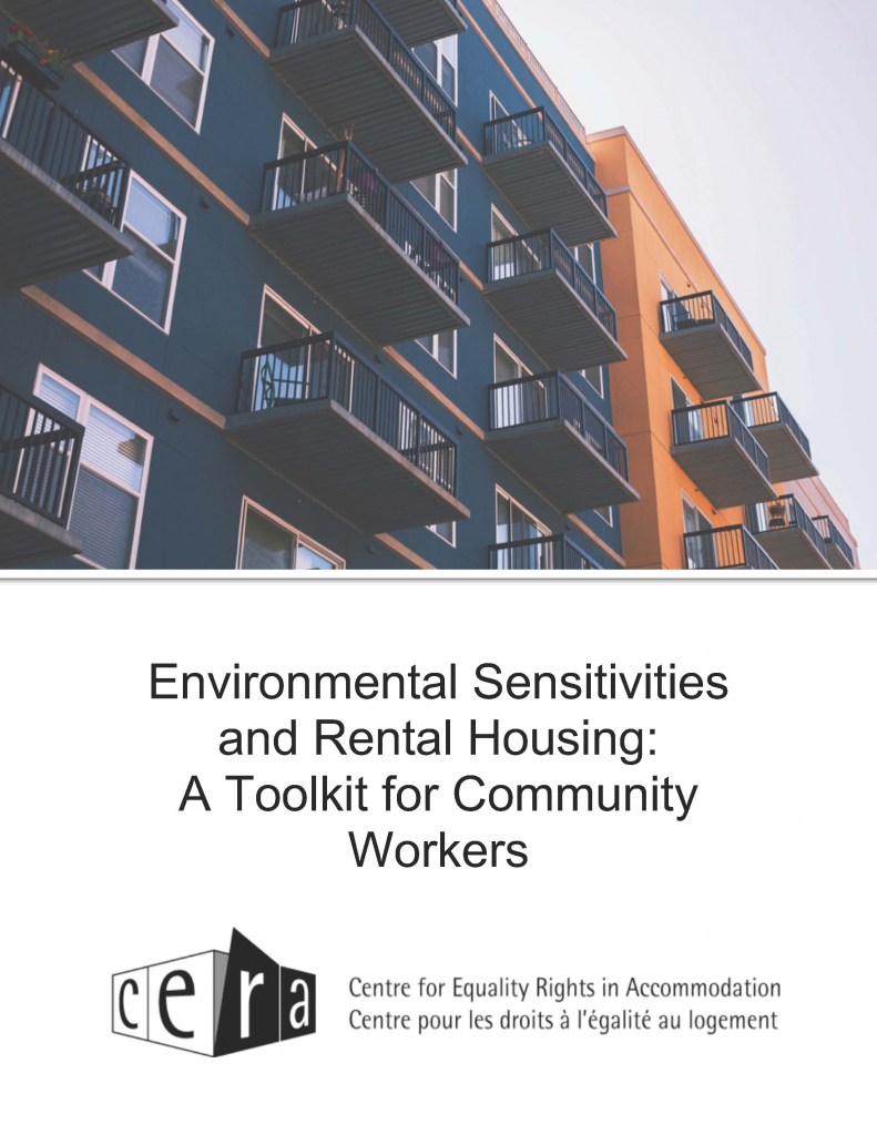 Environmental Sensitivities and Rental Housing: A Toolkit for Community Workers