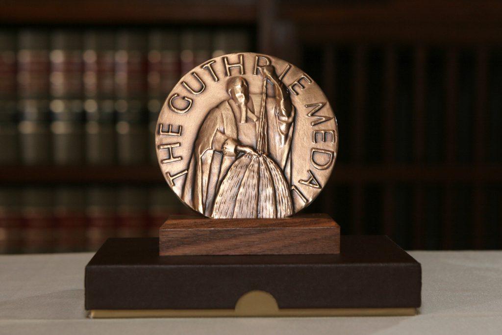 Guthrie Award Medal