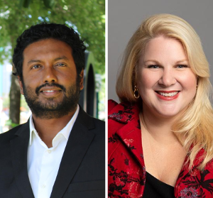 Prasanna Balasundaram and Laura Tamblyn Watts