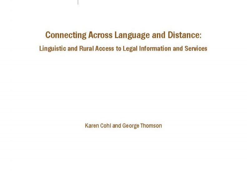 Connecting Across Language and Distance