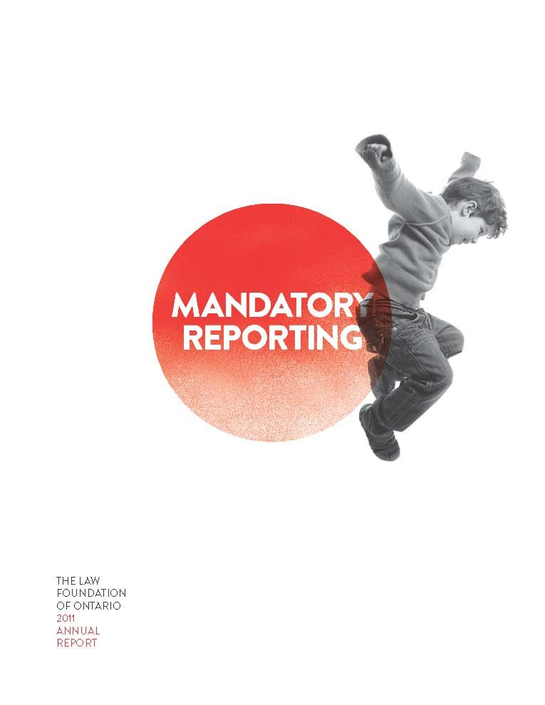 2011 Annual Report - Mandatory reporting