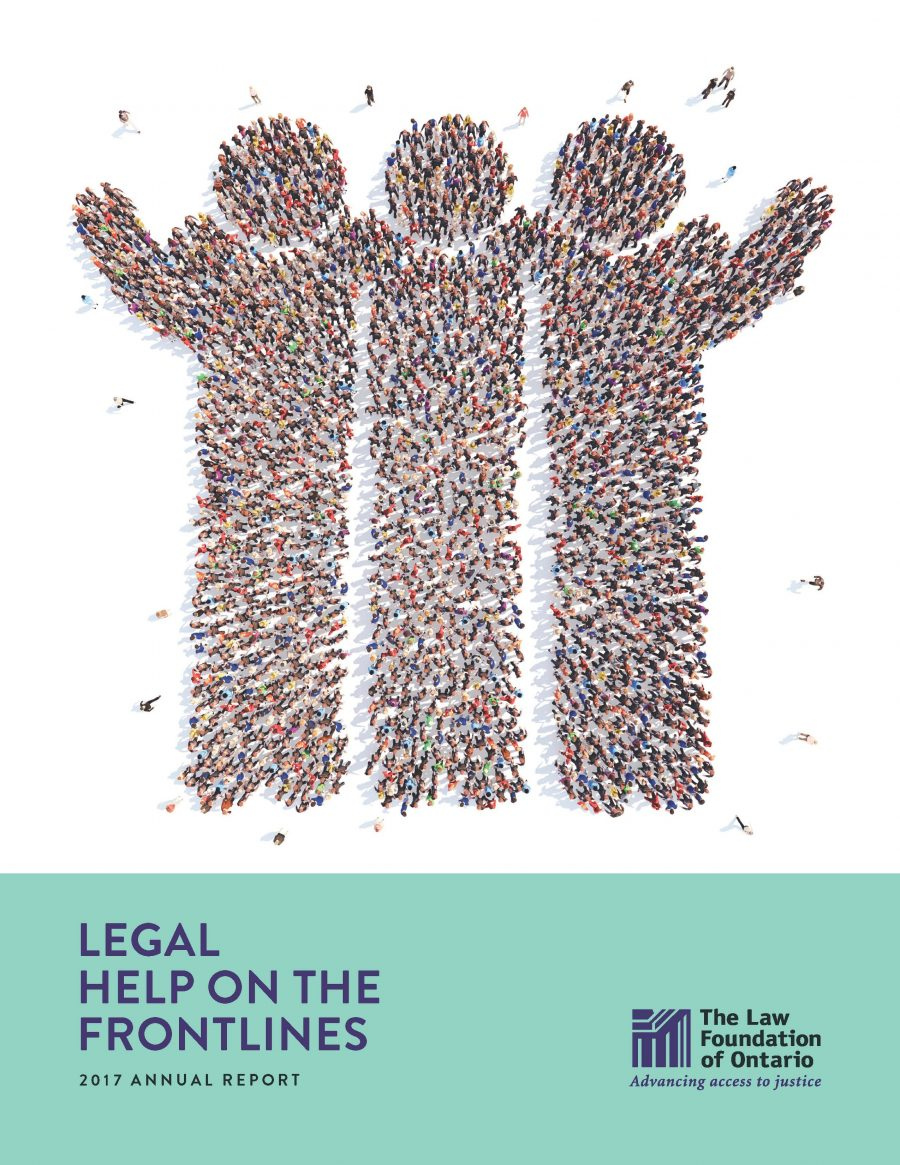 2017 Annual Report - Legal Help on the Frontlines